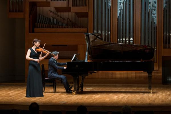 ヴァイオリンとピアノ演奏2